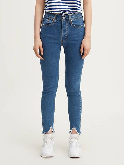 Wedgie Skinny Jeans