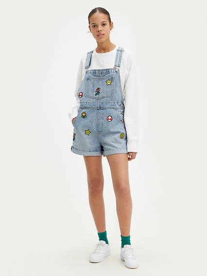 Levi's® x Super Mario Vintage Shortalls