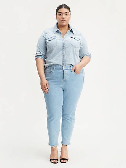 Wedgie Fit Skinny Women's Jeans (Plus Size)