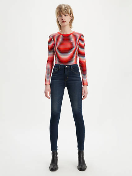 720 High Rise Super Skinny Warm Women's Jeans