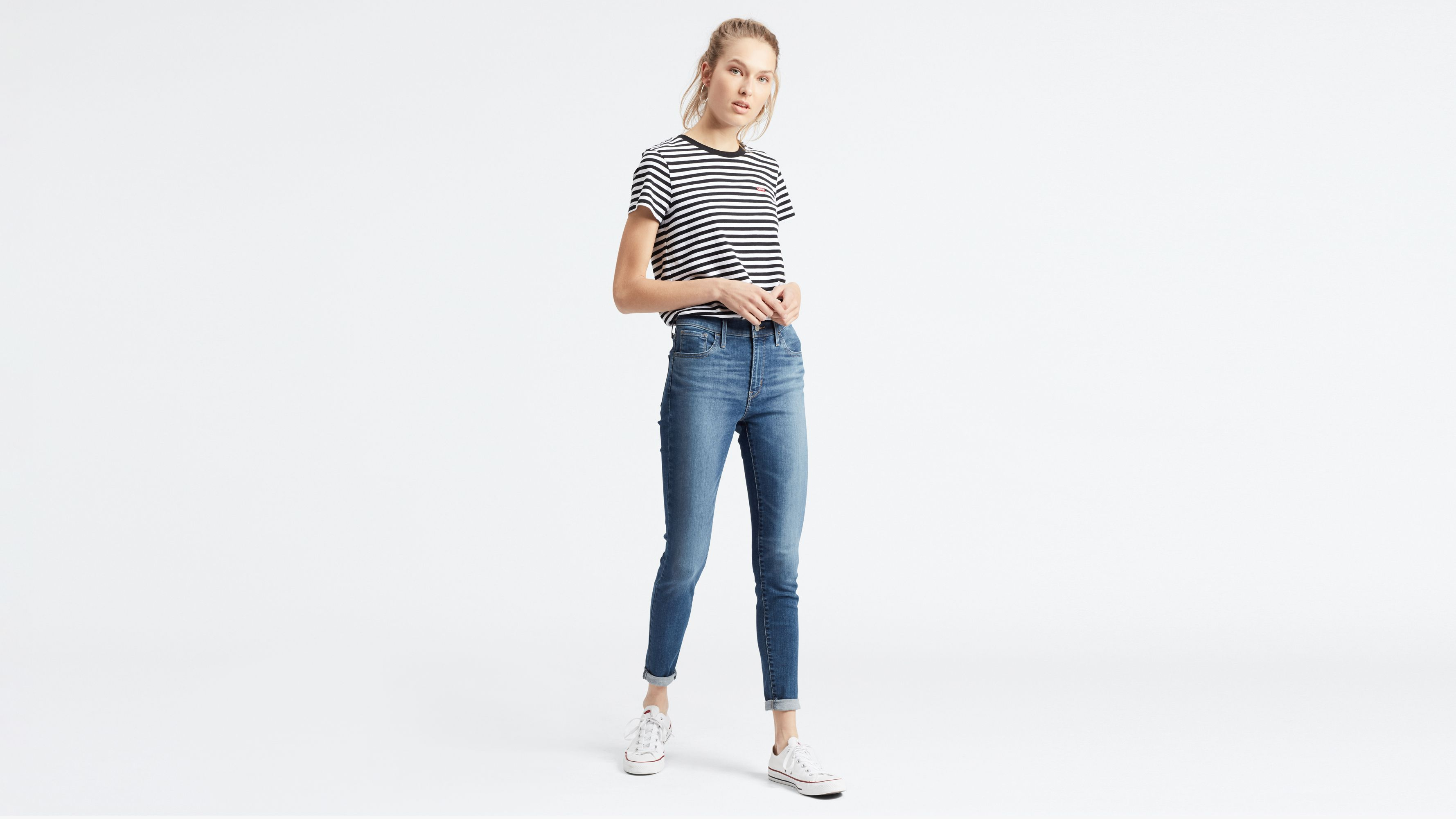 720™ High Waisted Super Skinny Jeans