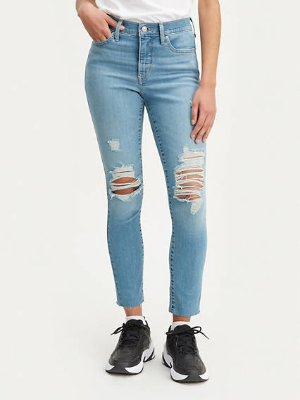 310 Shaping Super Skinny Ripped Women's Jeans