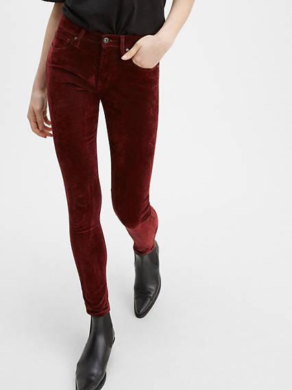 721 High Rise Velvet Pants