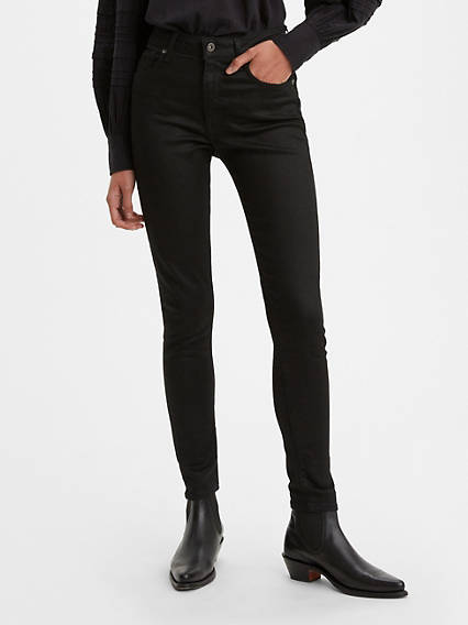 Levi's® Made & Crafted® 721™ Jeans - Schwarz / Black | Bekleidung > Jeans | Schwarz|black | Cotton | Levi's