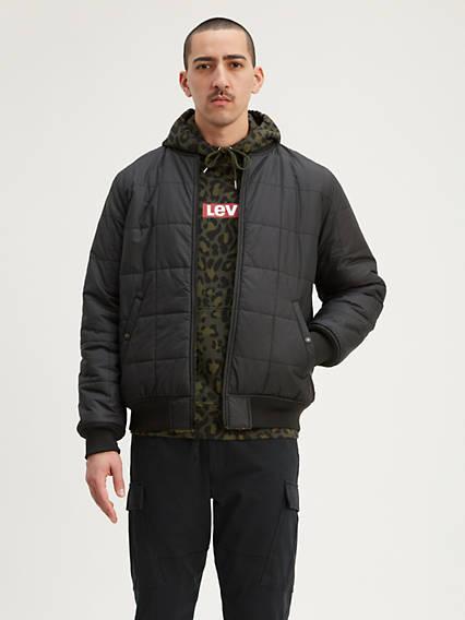 Reversible Sherpa Bomber Jacket