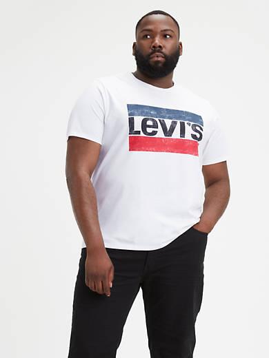 Levi's® Logo Classic Tee Shirt (Big)
