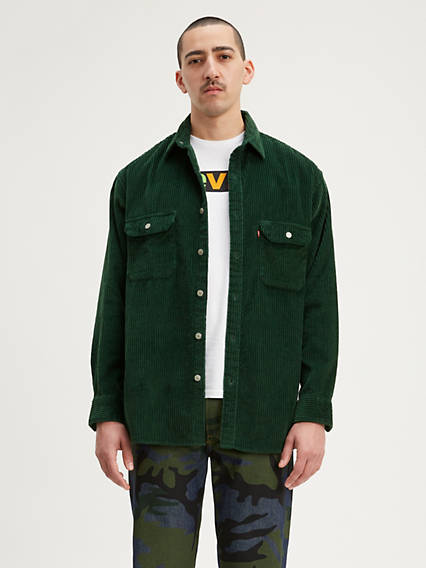 Corduroy Oversized Worker Shirt