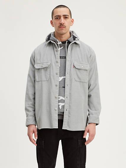 Corduroy Oversized Worker Shirt