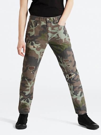 Hi-Ball Roll Camo Men's Jeans