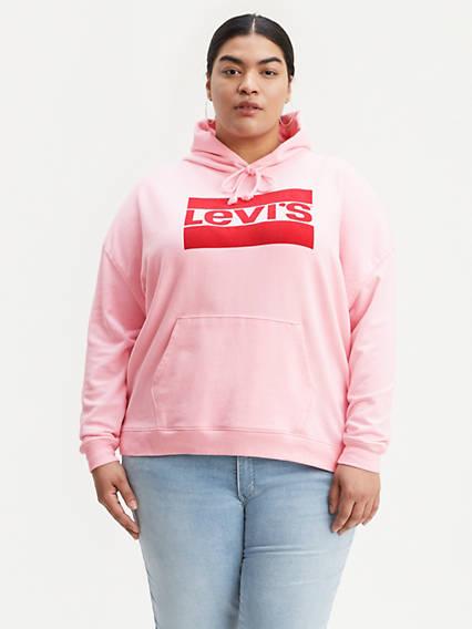 Sportswear Logo Hoodie (Plus Size)