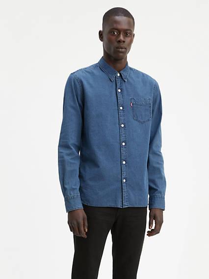 Chemise à poche crépuscule