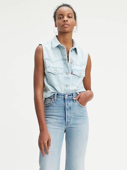 Sleeveless Addison Shirt