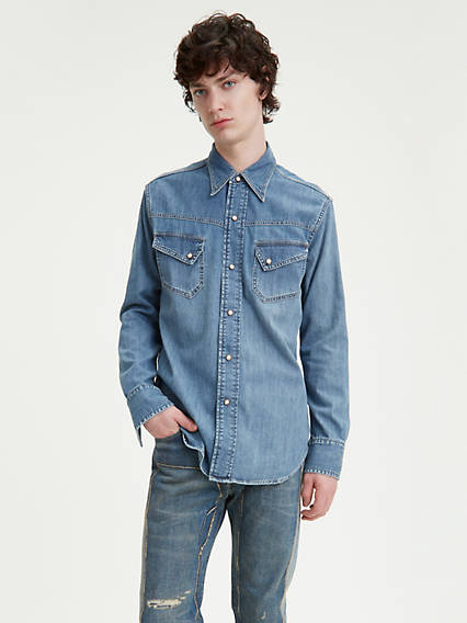 Levi's® Vintage Clothing 50's Western Denim Shirt