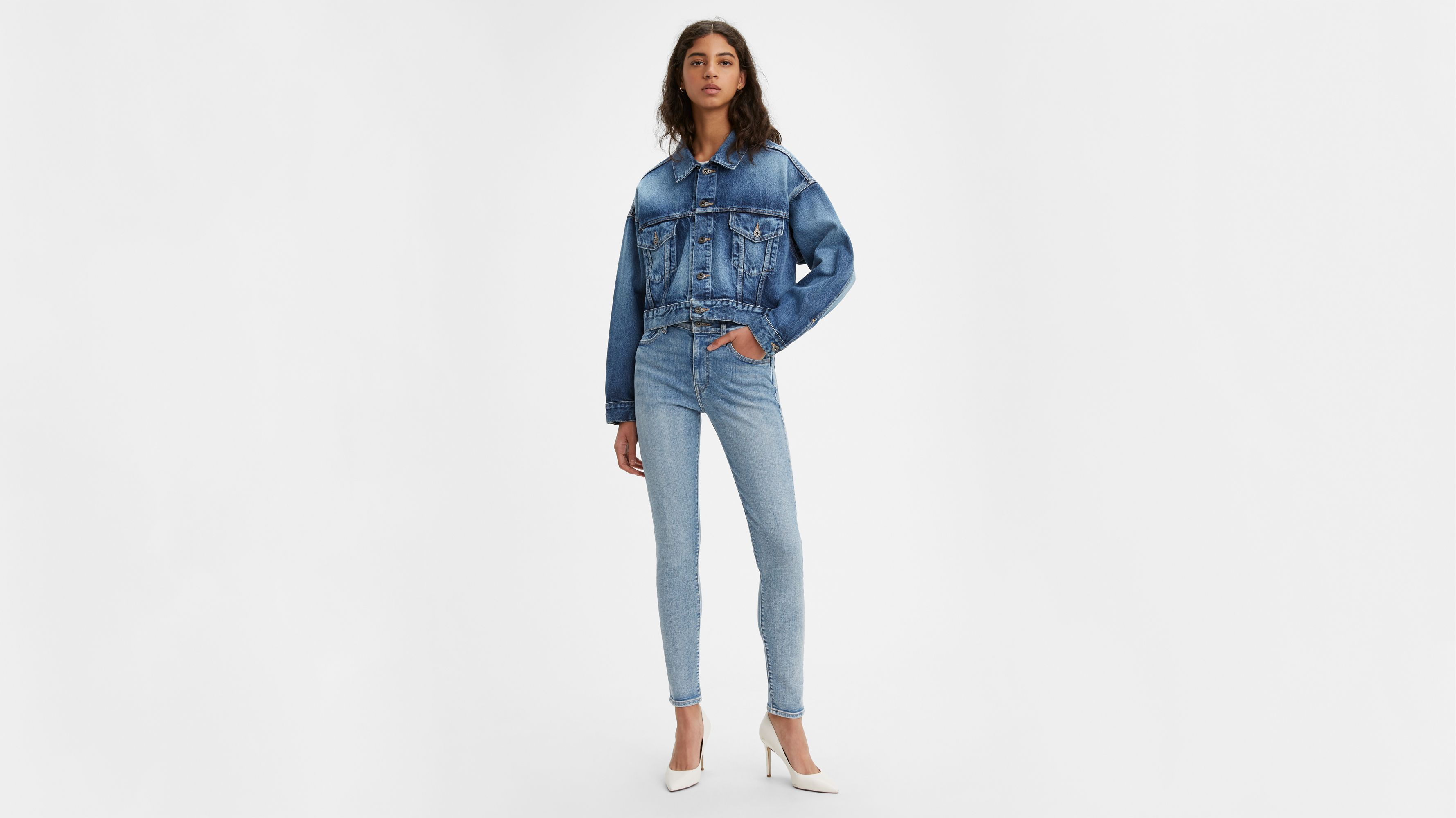 Levi's® Made & Crafted 721™ Skinny Jeans Blauw | Levi's® NL