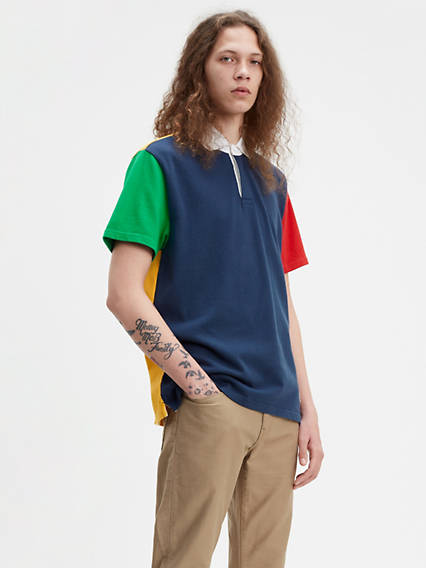 Mighty Made™ Rugby Polo Shirt
