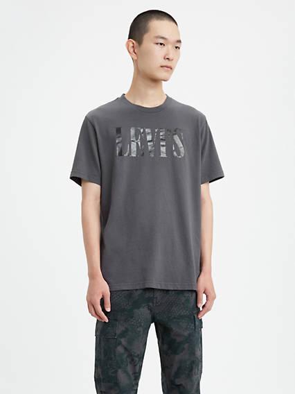 T-shirt graphique relax à logo sérif Levi'sMD