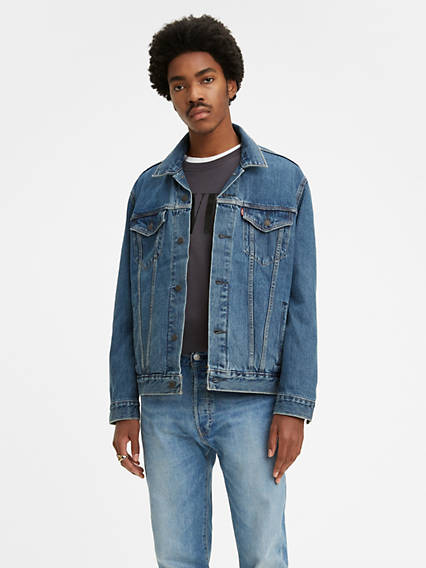 9f89c2059 Denim Jackets - Shop Men's Jean Jackets, Vintage Outerwear & More ...