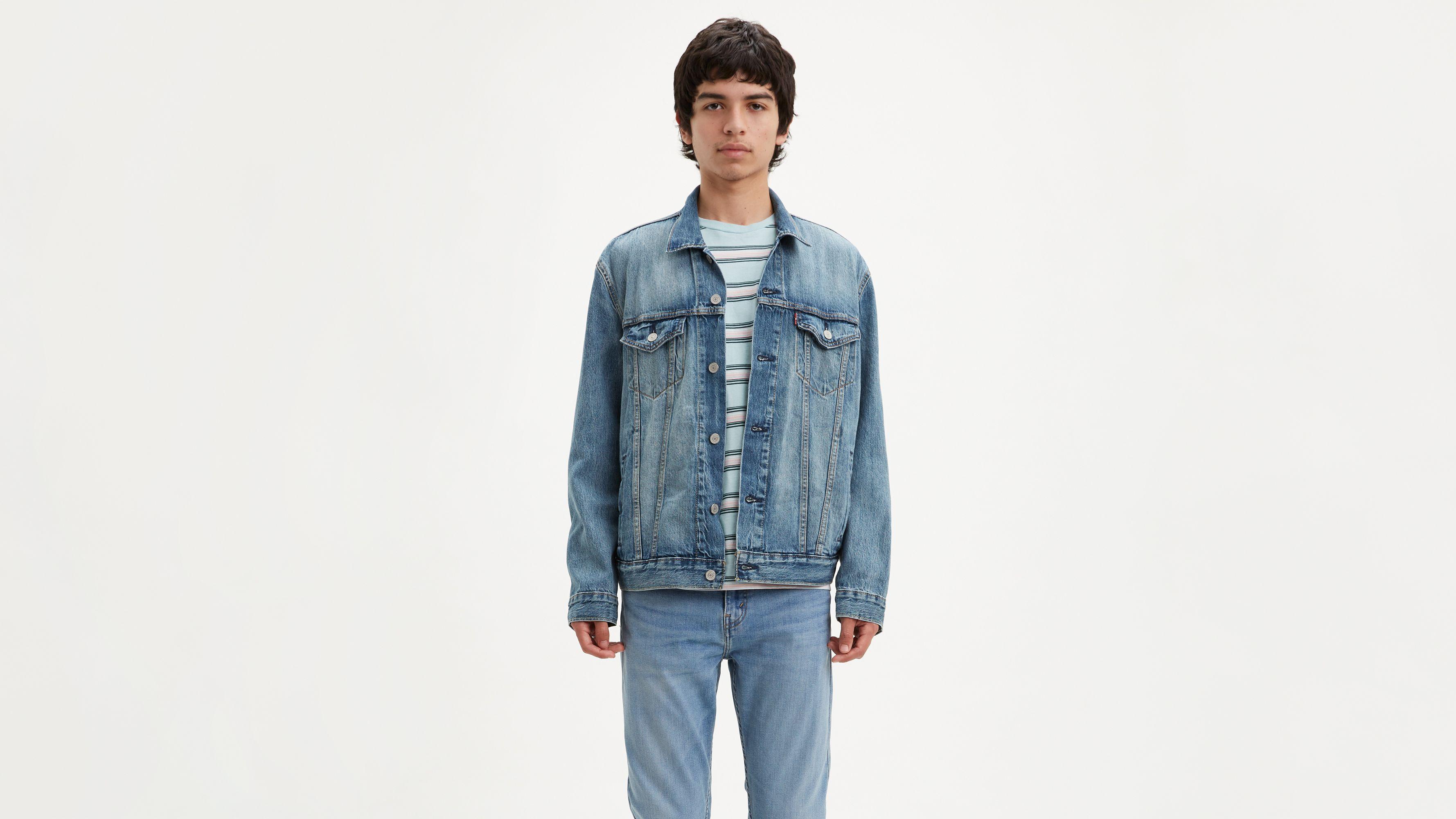 levi's jeans jacke trucker