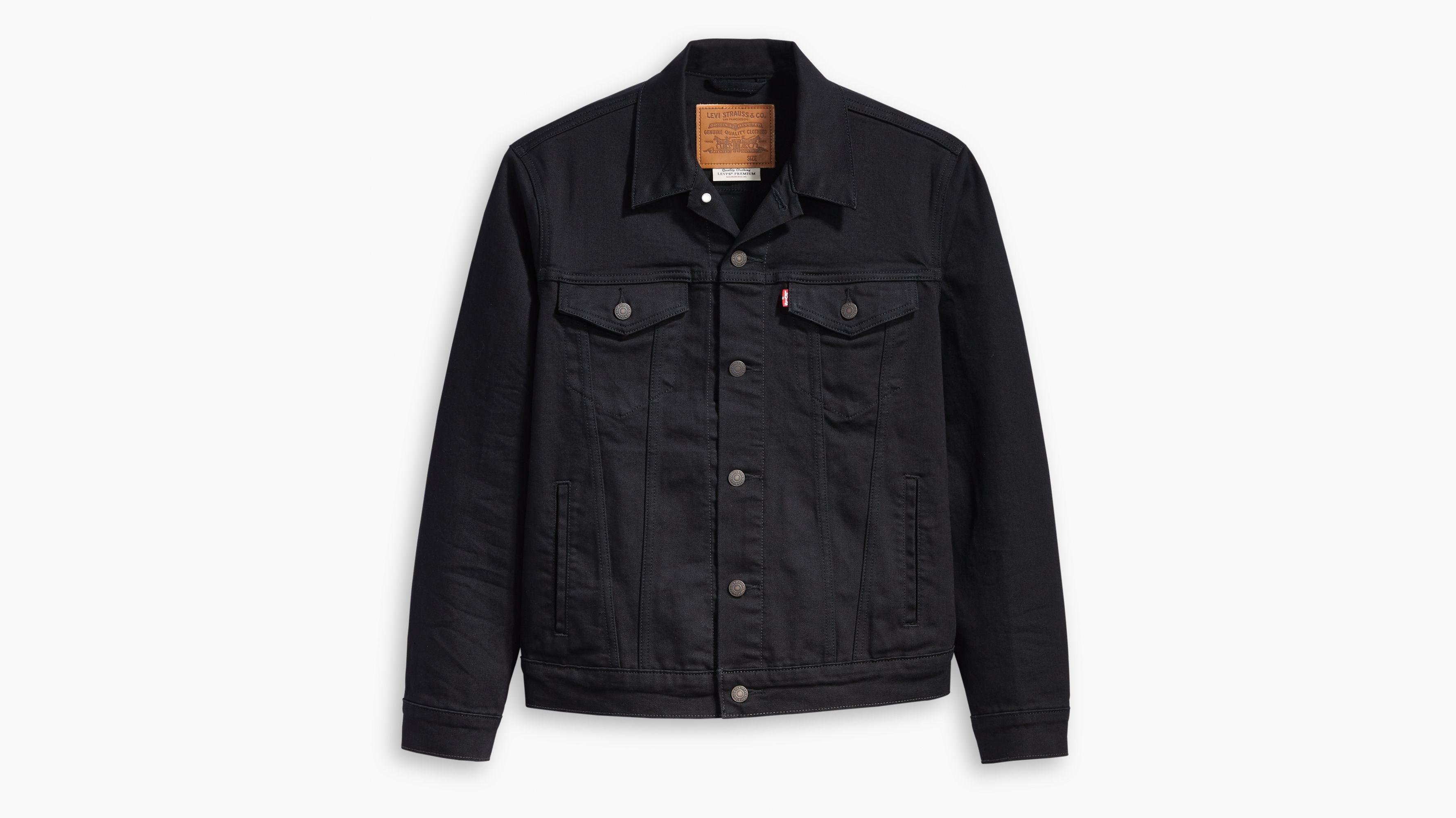 The Trucker Jacket Black   Levi's® DK