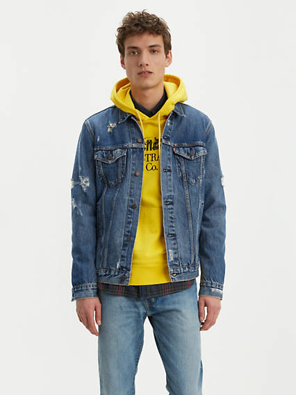 d91679807 Denim Jackets - Shop Men's Jean Jackets, Vintage Outerwear & More ...