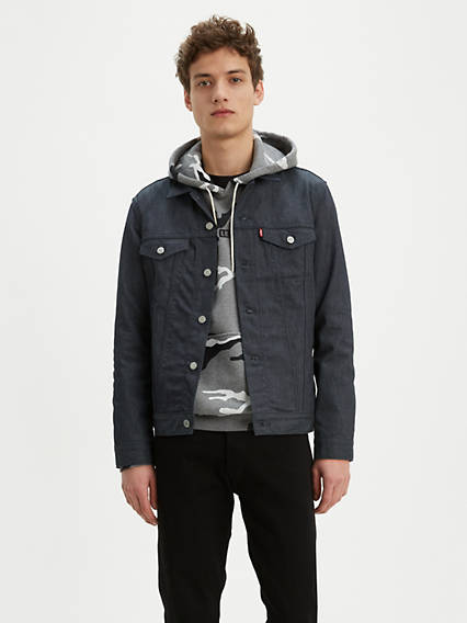 Reflective Trucker Jacket