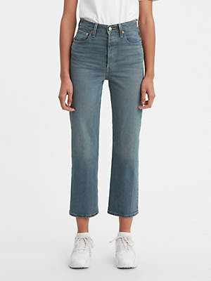Ribcage Ankle Straight Women's Jeans by Levi's, available on levi.com for $148 Bella Hadid Pants SIMILAR PRODUCT