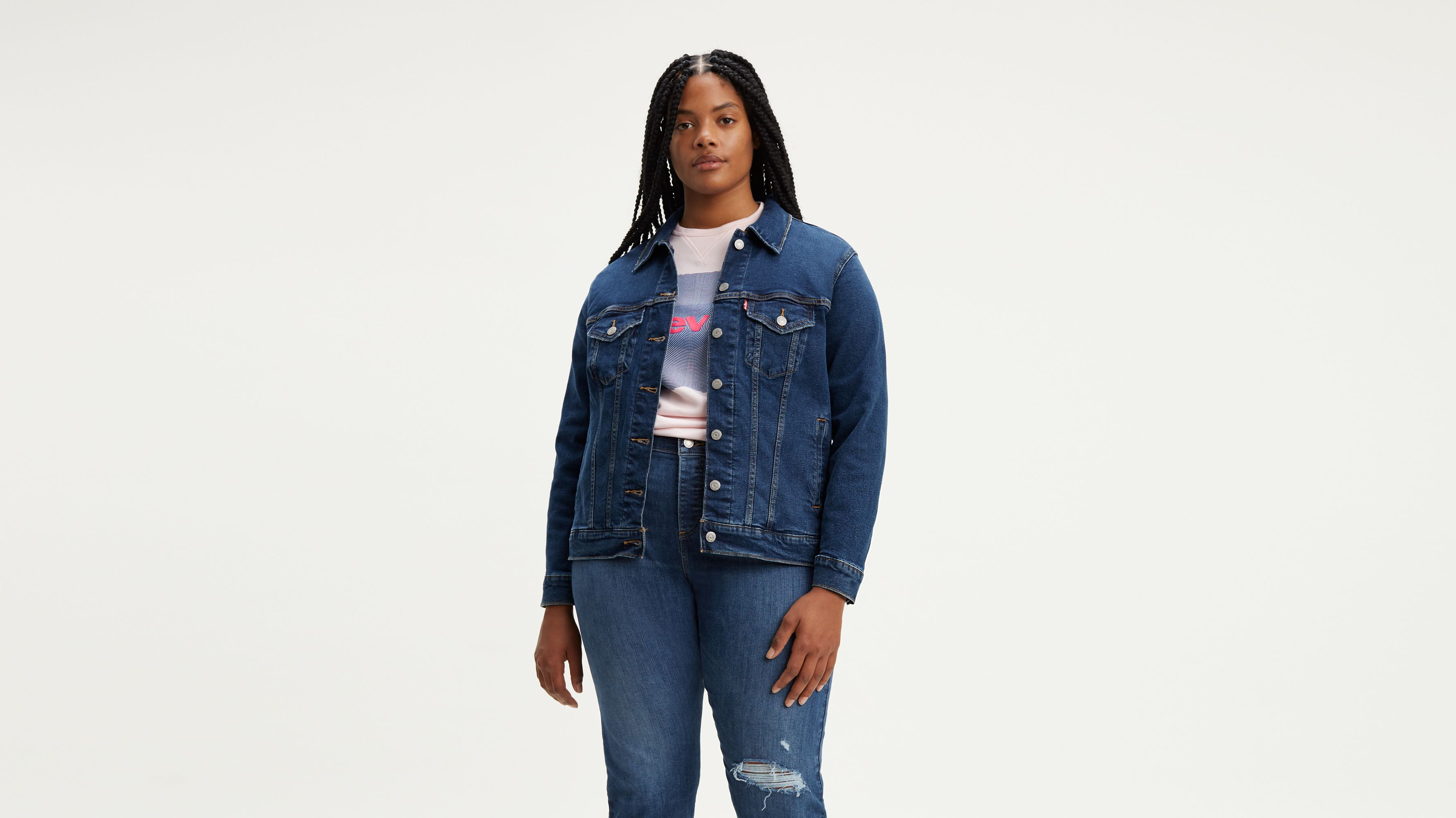 Shop Jackets Us Plus Women's Size JeanLevi's® Denim 3jq54ARL
