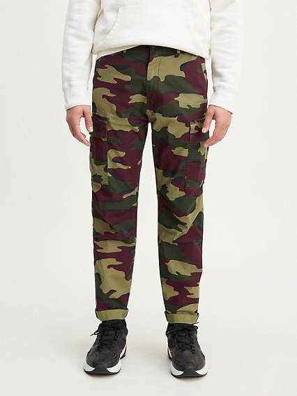 Camo Hi-Ball Roll Cargo Pants
