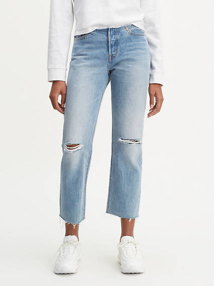 501® Low Rise Customized Crop Women's Jeans