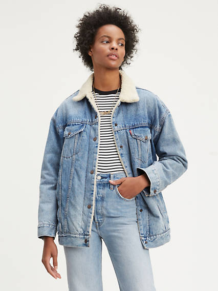 1298a3c49 Jean Jackets - Shop Women's Denim Jackets, Vests & Outerwear ...