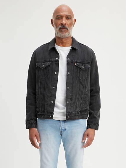 Flannel Lined Trucker Jacket