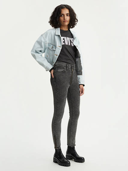 Levi's® Extra Moto Mile High Ankle Jeans