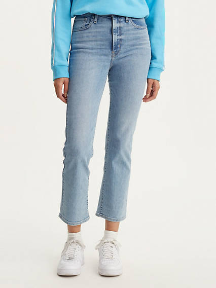 Mile High Crop Flare Women's Jeans