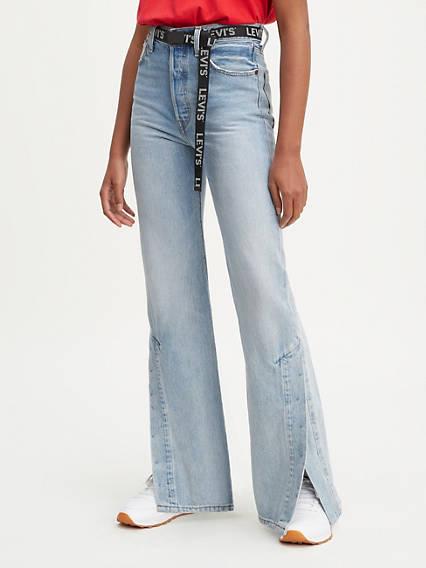 Ribcage Split Flare Women's Jeans