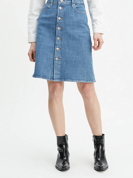 great discount limpid in sight hot-selling newest Denim Skirts & Dresses - Shop Jean Skirts & Dresses | Levi's® US