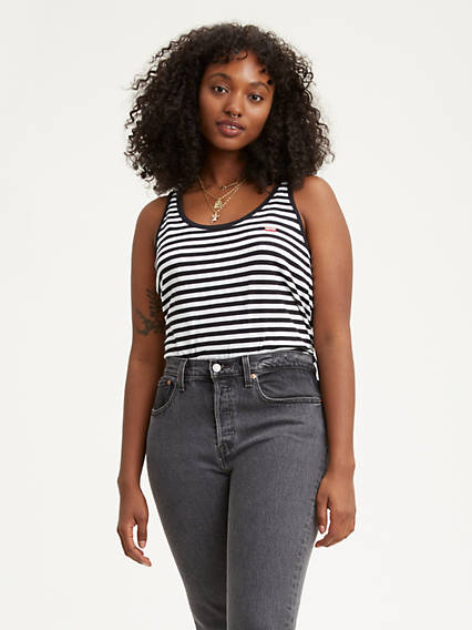 Striped Bobbi Tank