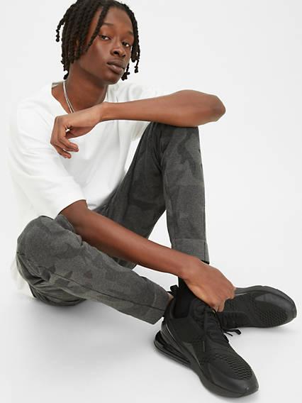 Jeans TechnoMC Levi'sMD Pantalon joggeur fuselé en tricot griffé