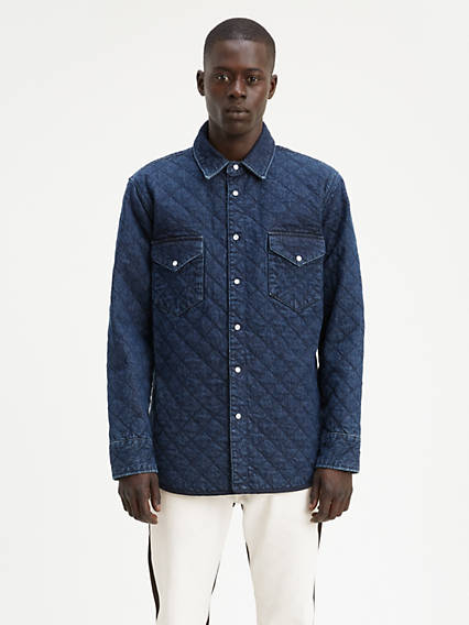 Levi's® Made & Crafted® Quilted Western Shirt