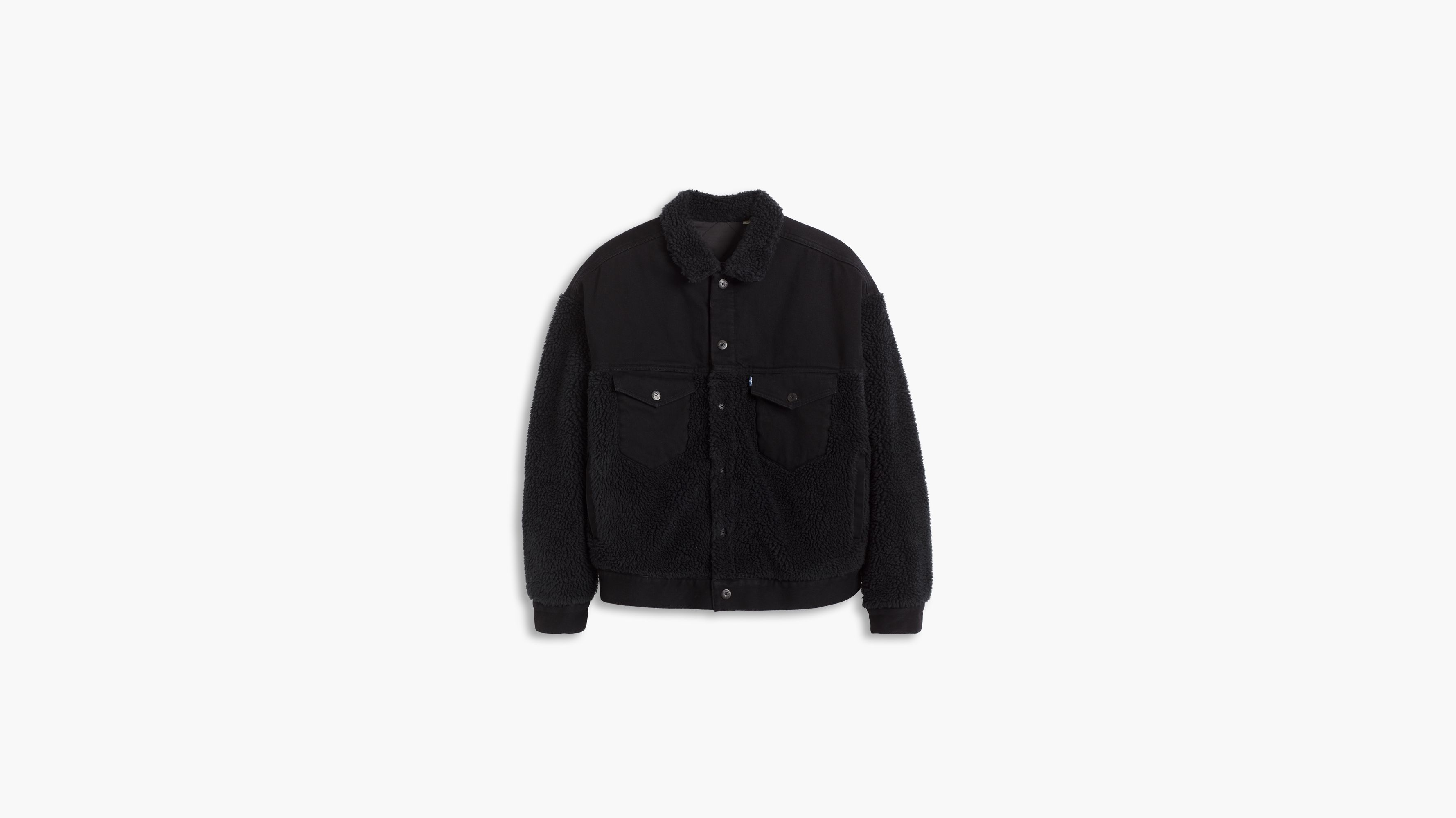 Jeansjacke 'type 3 Sherpa Trucker' from About You on 21 Buttons