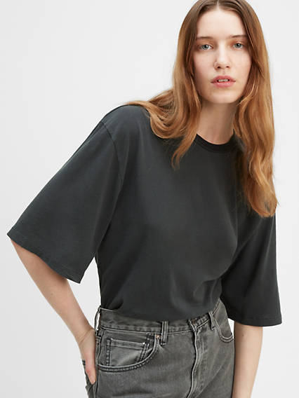 Oversized Sleeve Tee Shirt