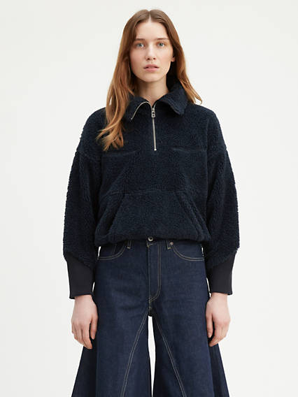 Levi's® Made & Crafted® Sherpa Track Popover