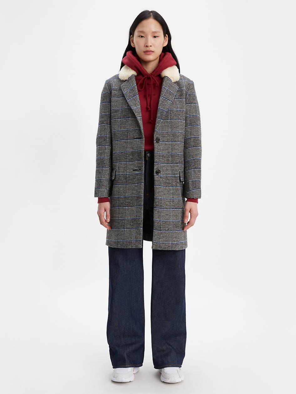 Amaya Coat - Black | Levi's® US