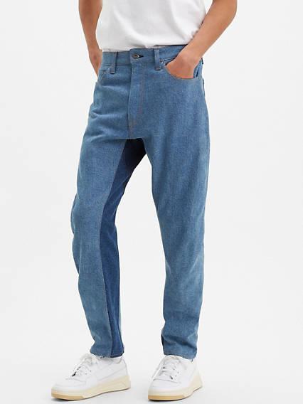 Bow-Legged Straight Pants