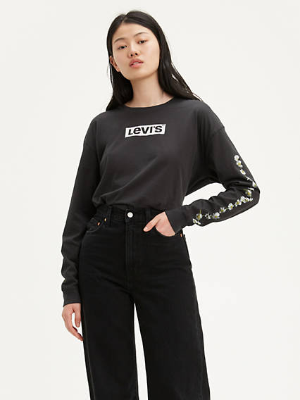 Graphic Oversize Longsleeve Tee Shirt