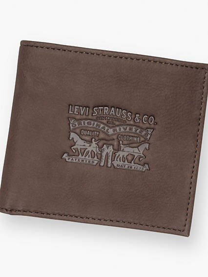 Vintage Two Horse Bifold Coin Wallet