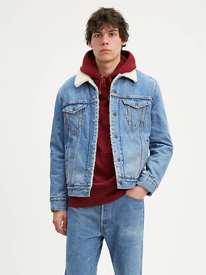 Levi's® Sherpa Trucker with Jacquard™ by Google