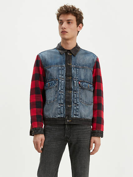 Type 2 Hybrid Trucker Jacket