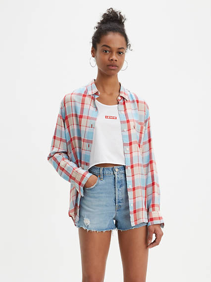 Ultimate Boyfriend Button Back Shirt