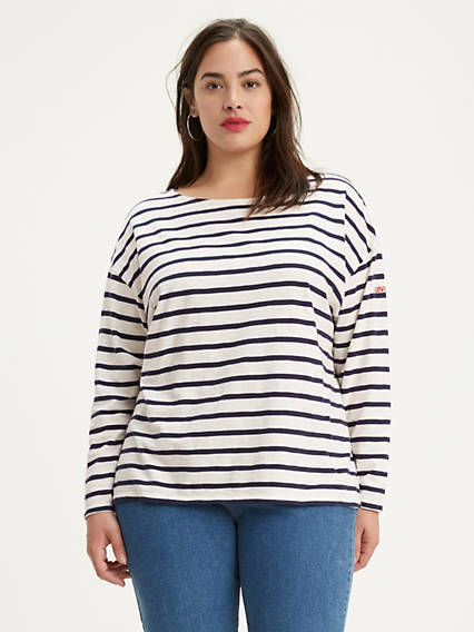 Cora Sailor Tee (Plus Size)