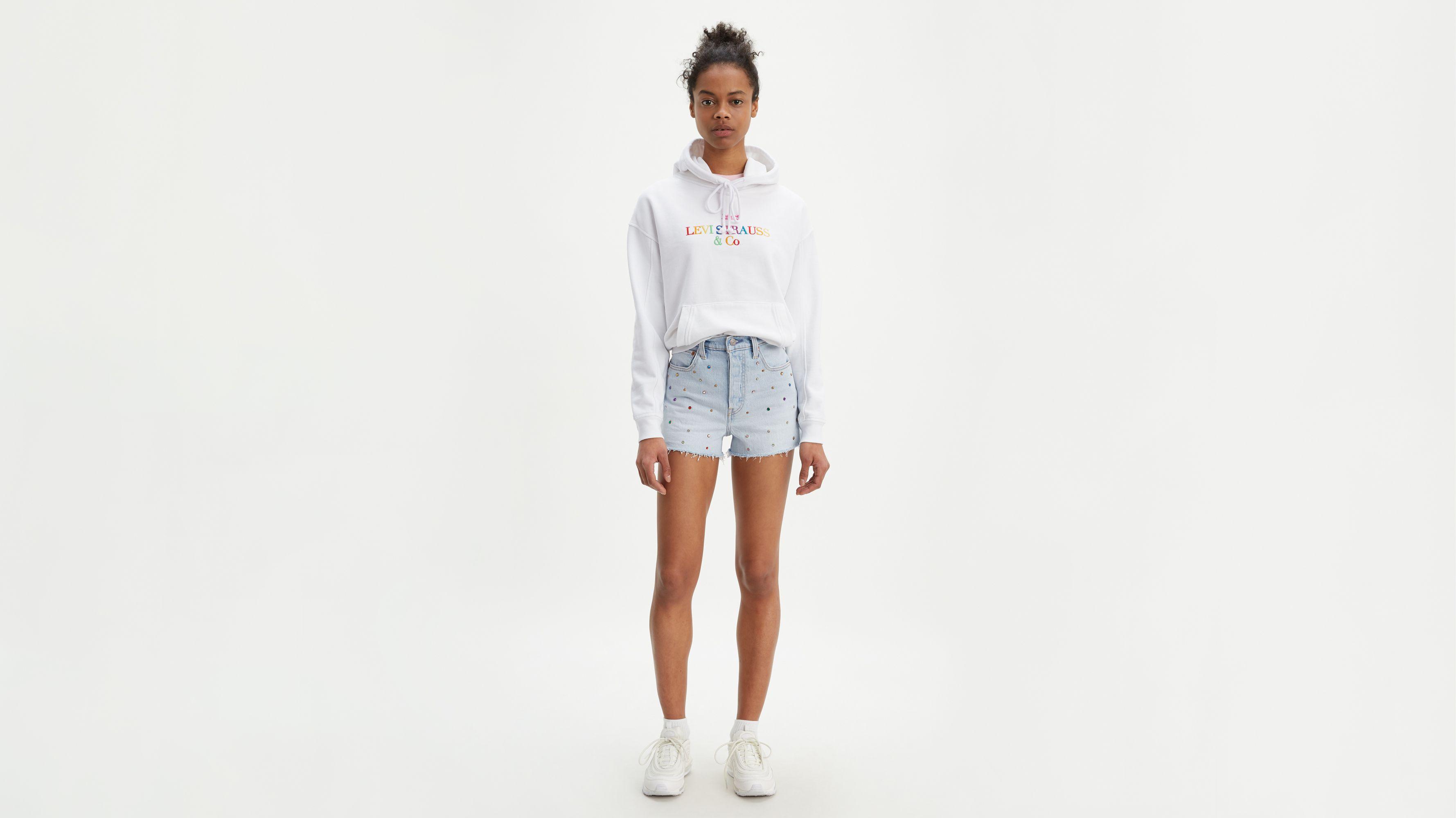 Ribcage Studded Shorts